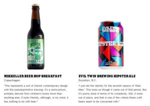 Milton Glaser Craft Beer