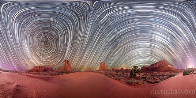 Planetary Panoramas by Vincent Brady