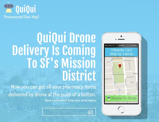 QuiQui Drone Delivery