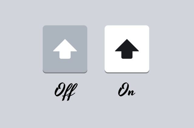 Is My Shift Key On or Not?