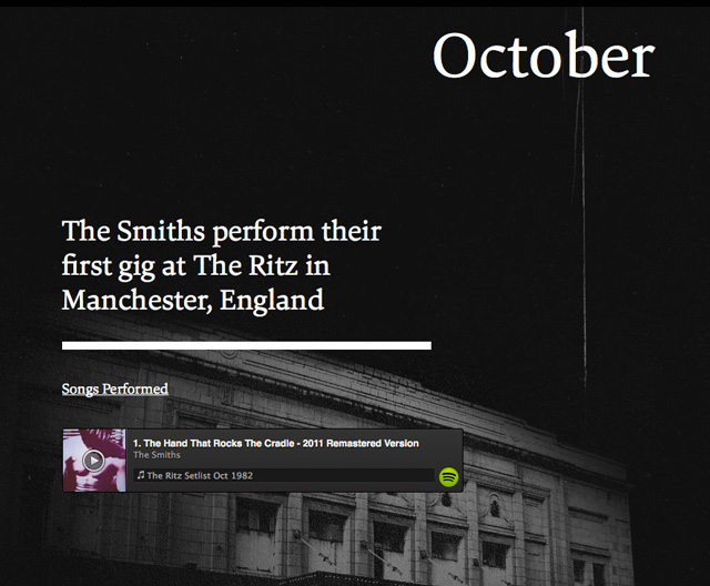 An Interactive History of The Smiths