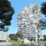 Planned 'Arbre Blanc' Tower in France Will Feature a Tree-Like Design