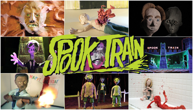 'Spook Train', A Stop-Motion Animation Horror Film Featuring Incredibly Gory Scenarios Made From Clay