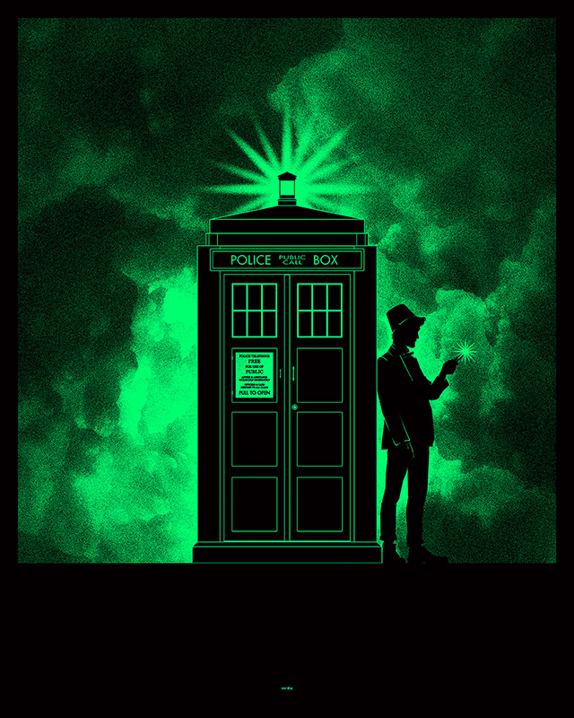 Dr. Who by Matthew Ferguson