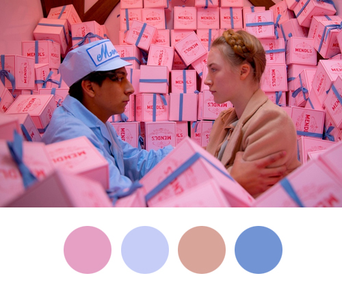 Wes Anderson Palettes - The Grand Budapest Hotel