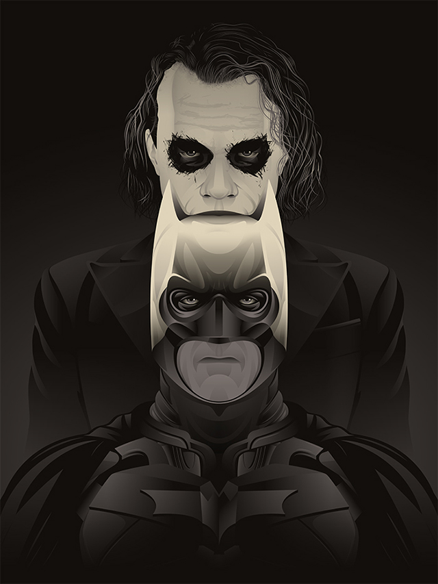 The Dark Knight by Guillaume Morellec