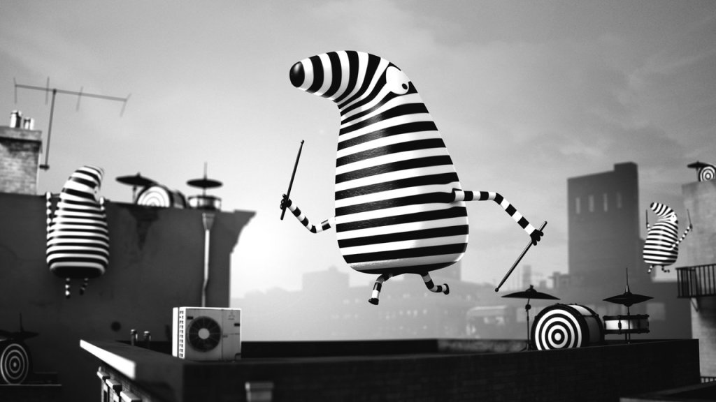Twisted Animated Music Video for 'The Daily Drumbeat' by Happy Camper