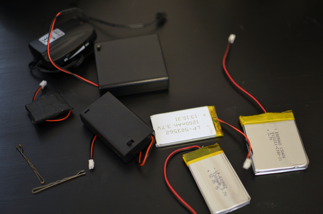 Washing Wearable Electronics Batteries