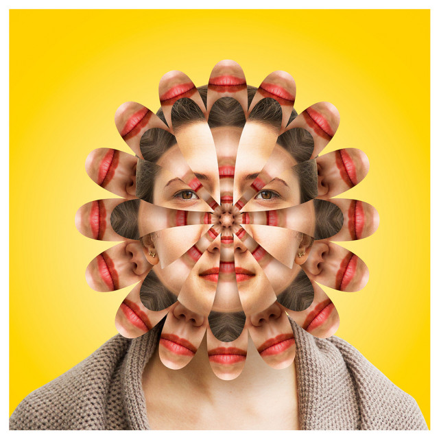 Kaleidoscopic Faces by Alex Norg