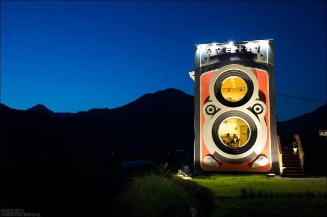 Rolleiflex Camera Cafe in South Korea