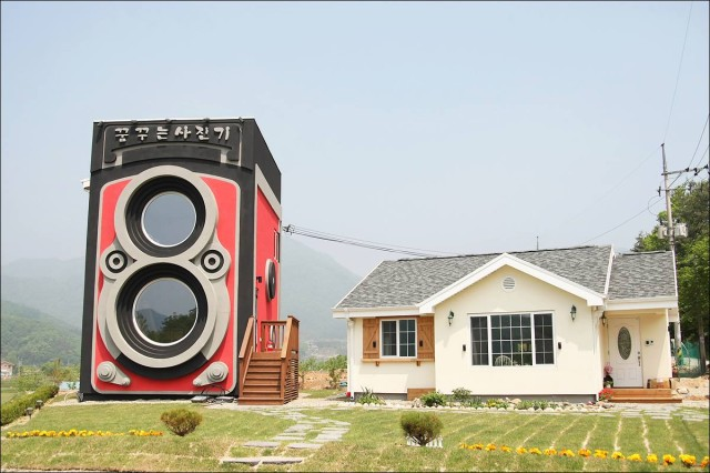 Rolleiflex Camera Cafe in South Korea