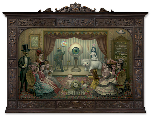 The Parlor (Allegory of Magic, Quintessence and Divine Mystery)