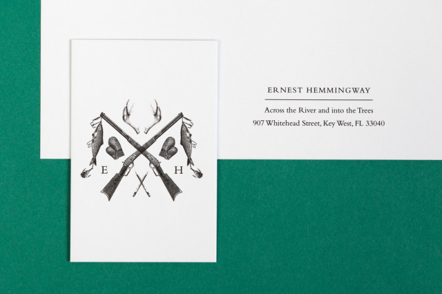 Letterhead for Famous Historical Figures