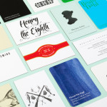 Modern Letterheads and Business Cards for Famous Historical Figures