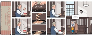Heads or Tails by Chris Ware