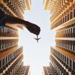 Man Poses a Toy Plane in Clever Forced Perspective Photos