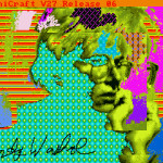 Digital Artwork by Andy Warhol Discovered on Amiga Computer Floppy Disks From 1985