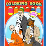 The 'Bleak Movies Coloring Book for Kids' Gives R-Rated Films a Positive Child-Friendly Twist