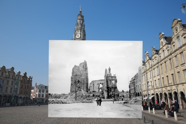 Then and Now World War I Photos