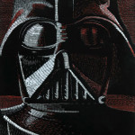 Detailed Mosaics of 'Star Wars' Characters Created Using Tens of Thousands of Multi-Colored Staples