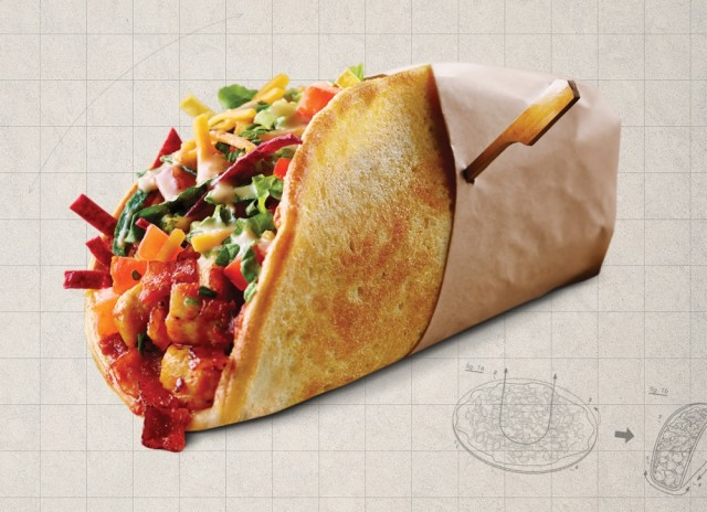 Boston Pizza Taco