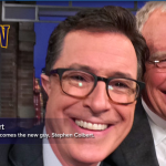 Stephen Colbert Talks With David Letterman About His Previous Brushes With Employment At 'The Late Show'