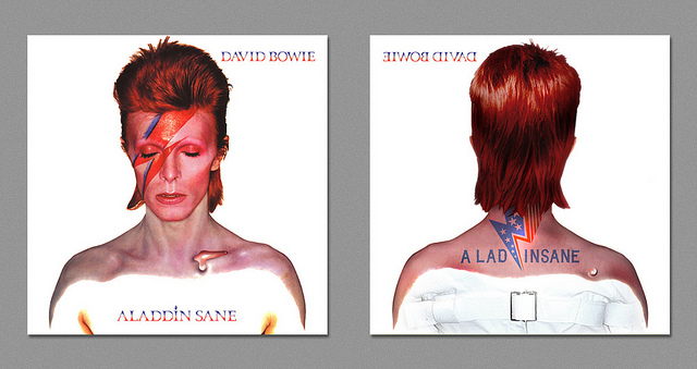 Dark Side - Bowie - Aladdin Sane