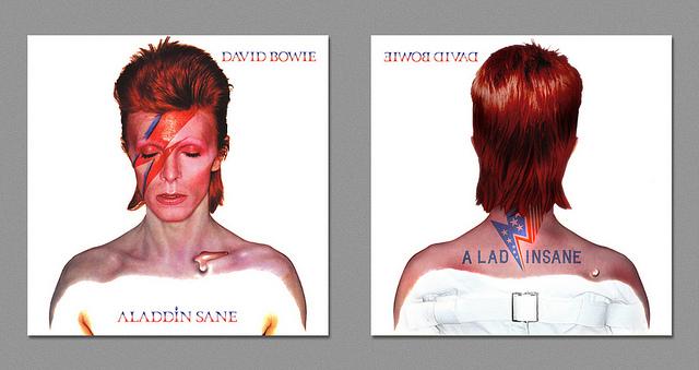 Dark Side - Bowie - Aladdin Sane