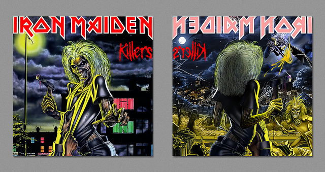 Dark Side - Iron Maiden - Killers