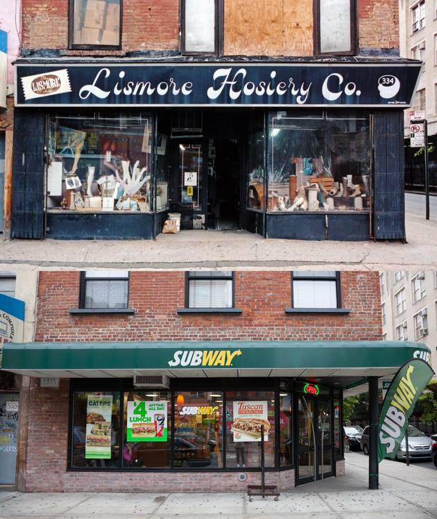 Lismore Hosiery > Subway Ludlow