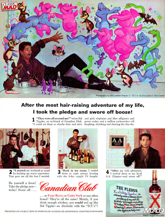 Mad Magazine Canadian Club