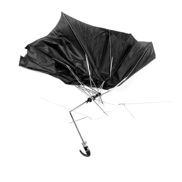 Mangled NYC Umbrellas