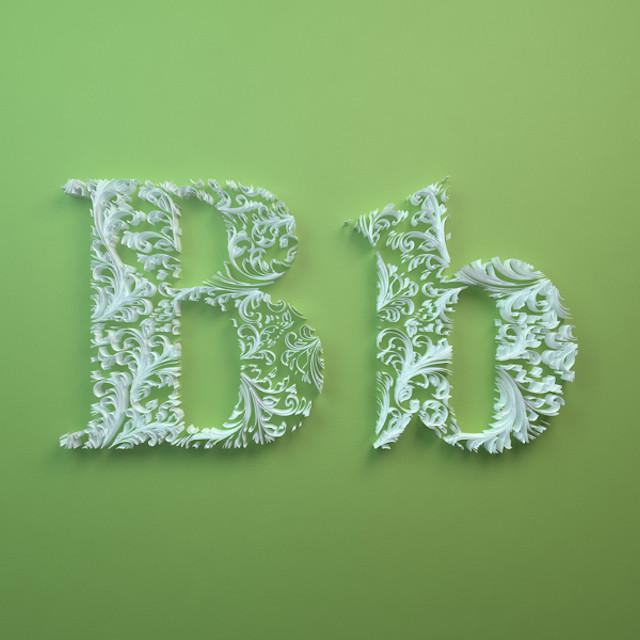 Quilled Paper Alphabet