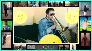 Pharrell Williams Happy Trombone Loop Paul the Trombonist