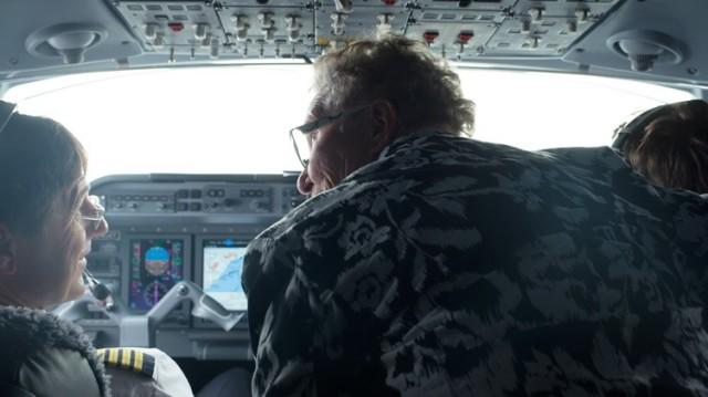 Ria In Cockpit