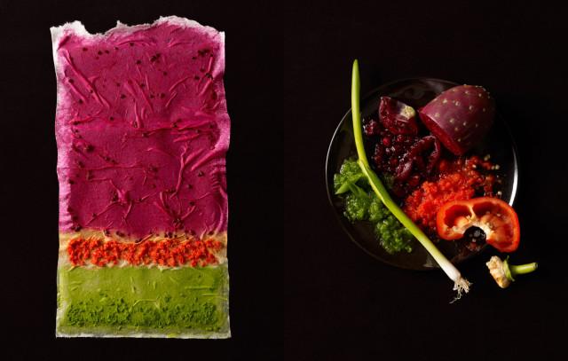 Food Texture Art