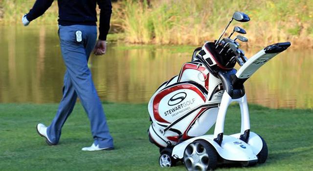 X9 Follow By Stewart Golf A Foldable Remote Control Golf