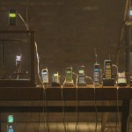 An Electronic Orchestra Created Using 30 Cell Phones and Four Pagers