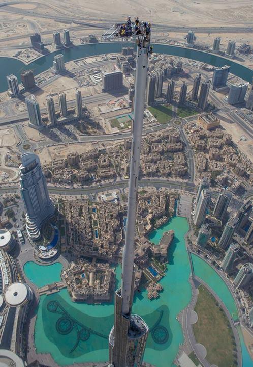 Burj Khalifa Skydive