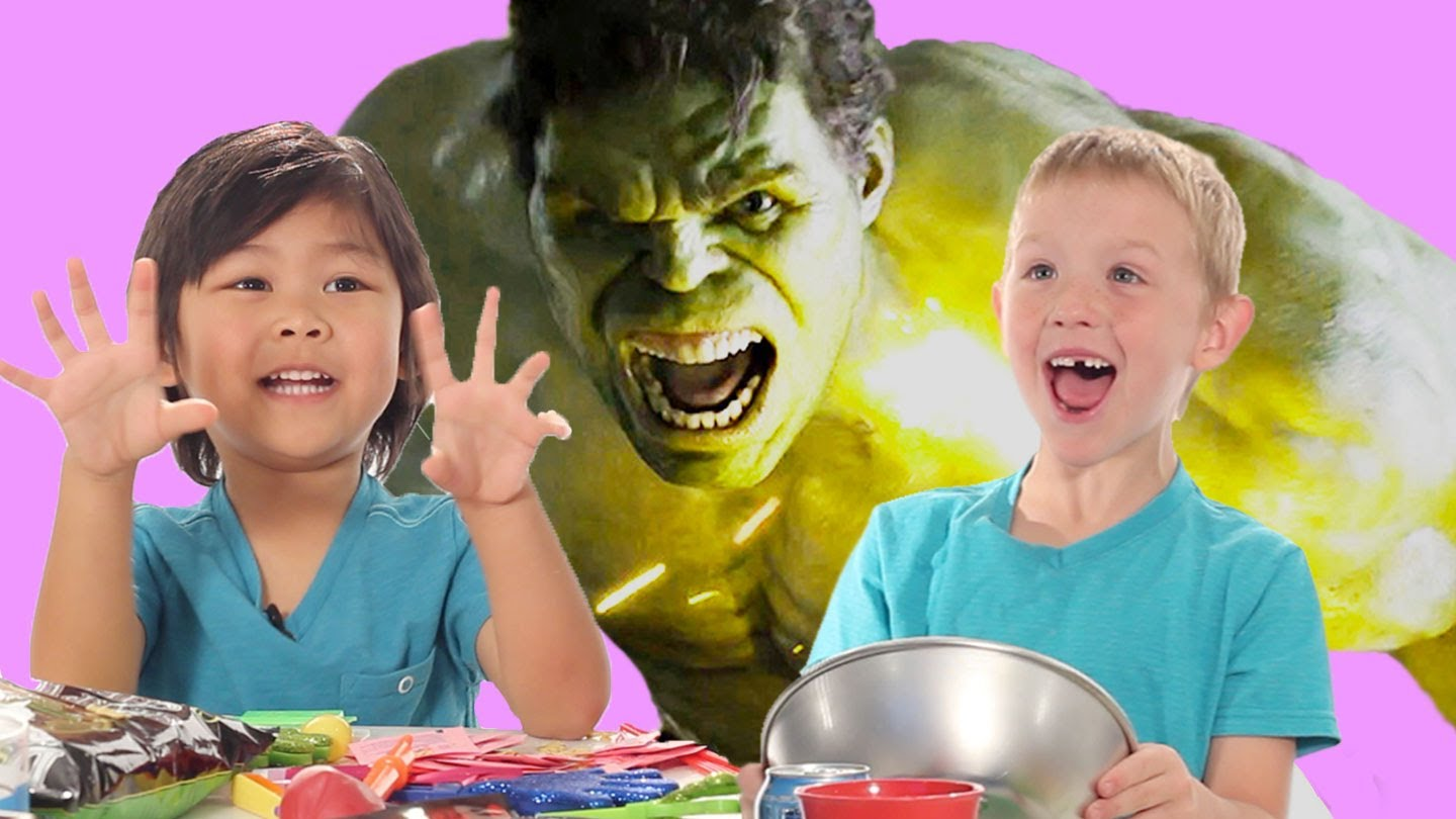 Kids Creating Their Own Sound Effects and Vocals for Popular Movies