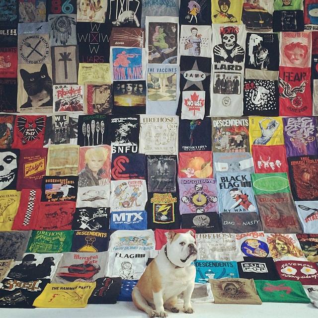 1000 Days of Wearing Band T-Shirts