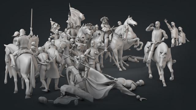 3D Painting Models
