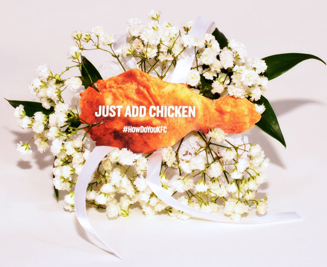 KFC Is Selling a Fried Chicken Corsage for Prom Season