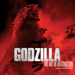 Godzilla: The Art of Destruction, Hardcover Book Offering a Behind-the-Scenes Look at the 2014 'Godzilla' Reboot Film