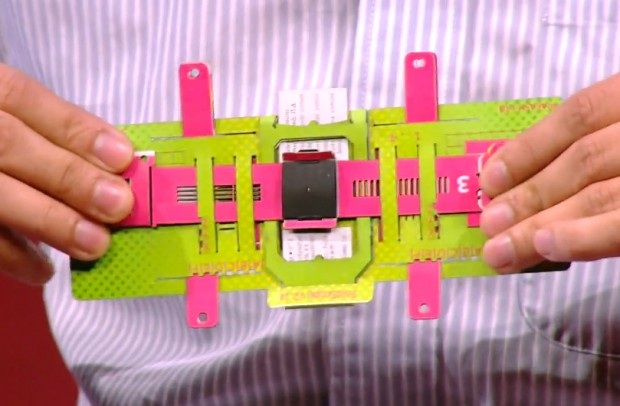 Foldscope, A Folding Printable Microscope Created Using Paper That Costs 50 Cents to Make