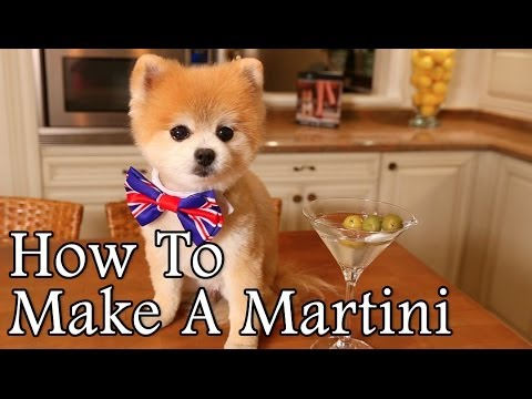 Gentleman Norman Demonstrates How To Properly Mix A Martini, Tie A Tie and Iron A Shirt