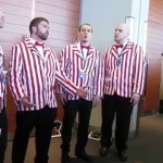 Barbershop Quartet Performs 'God Only Knows' From the Video Game 'BioShock Infinite' at PAX East