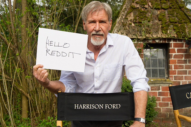 Harrison Ford Reddit