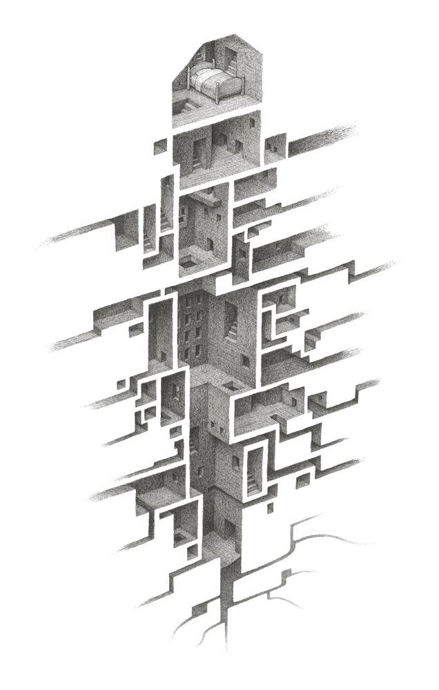 Room Series by Mathew Borrett
