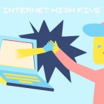 High Five the Internet, A Looping Compilation of People Giving Their Webcam a High Five